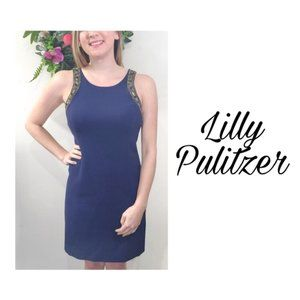 Lilly Pulitzer Navy dress size 8
